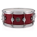 DW Snare, candy apple red, main