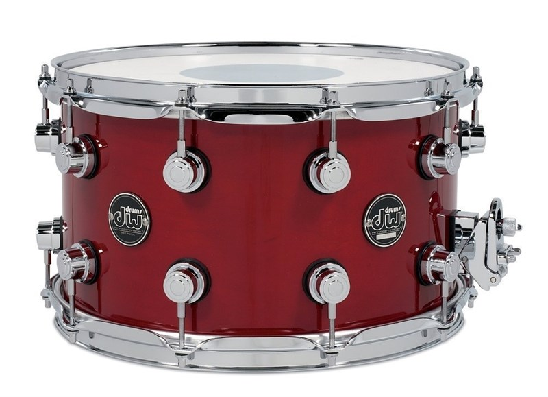 14x8in Snare, Candy Apple Red