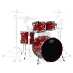 DW Shell Pack 22in, Candy Apple Red
