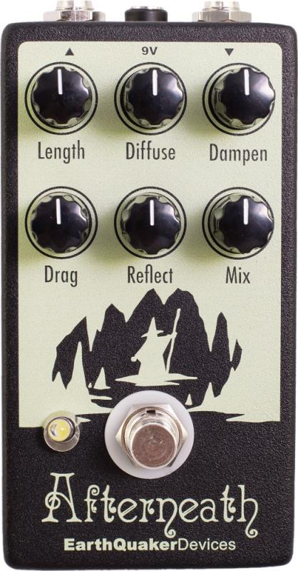 EarthQuaker Devices Afterneath V2 Front