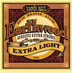 Ernie Ball 2006 Earthwood 80/20 Bronze Acoustic, Extra Light, 10-50