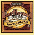 Ernie Ball 2008 Earthwood 80/20 Bronze Acoustic, Rock & Blues, 10-52
