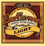Ernie Ball 2004 Earthwood 80/20 Bronze Acoustic, Light, 11-52