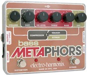 Electro-Harmonix Bass Metaphors Preamp EQ Distortion Compressor Pedal