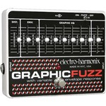 Electro-Harmonix Graphic Fuzz EQ Distortion Sustainer Pedal