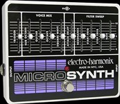 Electro-Harmonix Micro Synthesizer Analog Guitar Synth Pedal