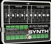 Electro-Harmonix Bass Micro Synthesizer Analog Micro Synth Pedal
