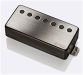 EMG 66-7H Active Humbucker Pickup, 7 String, Brushed Chrome