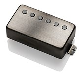 EMG 66 Active Humbucker Pickup, Brushed Black Chrome
