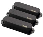 EMG SA Solderless Single Coil Pickup Set, Black