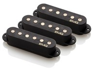 EMG SAV Single Coil Pickup Set, Black