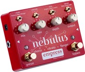 Empress Effects Nebulus Chorus, Vibrato and Flanger Pedal