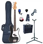 Encore EBP-E20 Blaster Bass Starter Pack, Black