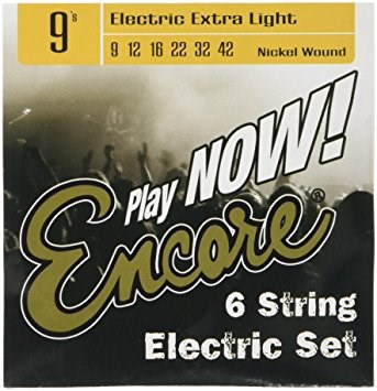Encore Electric Extra Light Strings 9-42