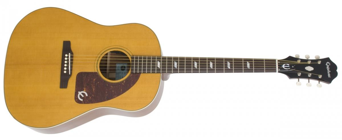 Epiphone Texan antique natural