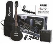 Epiphone Les Paul Player Pack (Ebony)