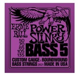 Ernie Ball 2821 Power Slinky Bass, 5-String, 50-135