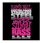 Ernie Ball 2844 Stainless Steel Super Slinky Bass (45-100)
