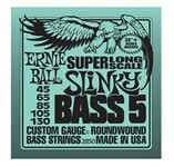 Ernie Ball 2850 Super Long Scale Slinky Bass 5 String (45-130)