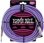 Ernie Ball Instrument Cable 25ft Purple Front