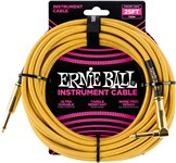 Ernie Ball Instrument Cable 25ft Gold Front
