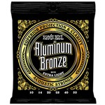 Ernie Ball 2570 Aluminium Bronze Acoustic, Extra Light, 10-50