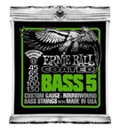Ernie Ball 3836 Coated Regular Slinky Bass, 5-String, 45-130