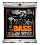 Ernie Ball 3833 Coated Hybrid Slinky Bass Strings (45-105)