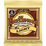 Ernie Ball 3004 Earthwood 80/20 Bronze Acoustic, Light, 11-52, 3 Pack