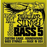 Ernie Ball 2836 Regular Slinky Bass, 5-String, 45-130