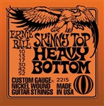 Ernie Ball 2215 Skinny Top Heavy Bottom Electric, 10-52