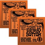 Ernie Ball 3215 Skinny Top Heavy Bottom 3 Set Triple Pack (10-52)