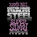 Ernie Ball 2248 Stainless Steel Super Slinky Electric, 9-42