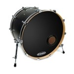 Evans EMAD Resonant Black Bass Drum Head (24in) - BD24REMAD