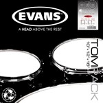 Evans EC2 Clear SST Drum Head Pack (Rock) - ETP-EC2SCLR-R