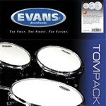 Evans Genera G2 Coated Drum Head Pack (Fusion) - ETP-G2CTD-F