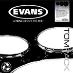 Evans Onyx Coated Drum Head Pack (Rock) - ETP-ONX2-R
