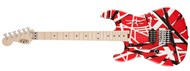 EVH Striped Series Red, Black, White