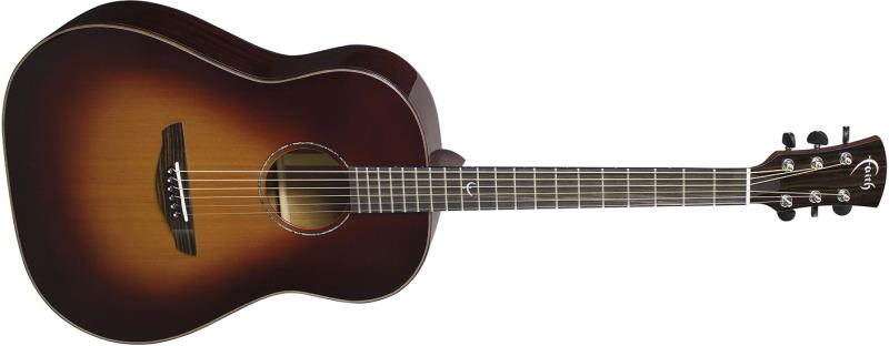 Faith FRSBG Classic Burst Acoustic Front