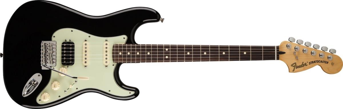 fender 2013 deluxe lone star stratocaster black rosewood. Black Bedroom Furniture Sets. Home Design Ideas