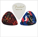 Fender 351 Shape Classic Premium Celluloid Picks Shell 12 Pack (Medium)