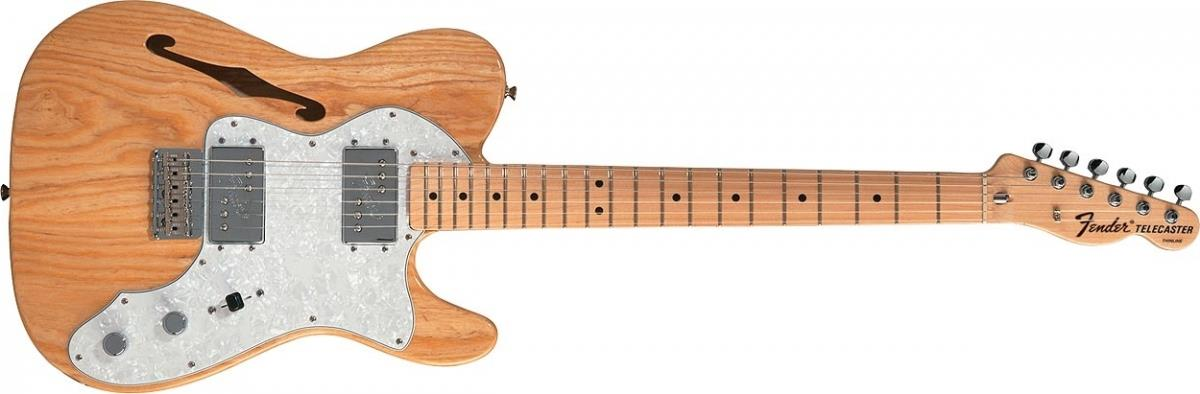 Fender '72 Telecaster Thinline Natural Main