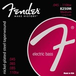 Fender 8250M Nickel-Plated Steel Taperwound Strings 45-110TW