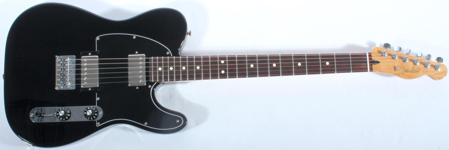 fender blacktop telecaster hh black rosewood pre owned. Black Bedroom Furniture Sets. Home Design Ideas