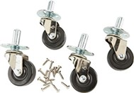 Fender CASTERS W/HARDWARE SET OF 4