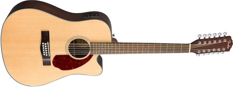 Fender CD140SCE 12-String Electro-Acoustic, Front