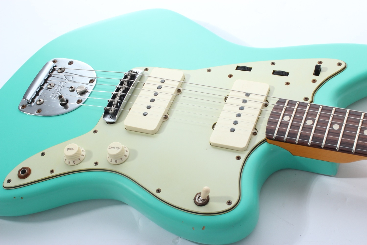 Fender Custom Shop \'62 Jazzmaster Relic (Sea Foam Green)