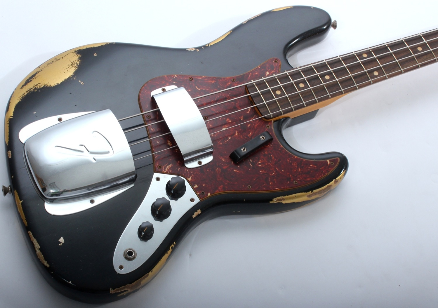 Red Yamaha Bass