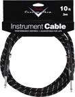 Fender Custom Shop Performance Series Instrument Cable (10ft 3M, Black Tweed)