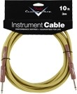 Fender Custom Shop Performance Series Instrument Cable (10ft 3M, Tweed)